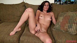 AllOver30 - Sexy slender MILF Miranda Thompson