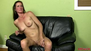 AllOver30 - Sofie Marie in and out of a bathrobe