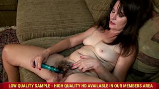 AllOver30 - Sherry Lee and her hairy pussy