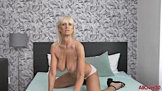 AllOver30 - Blonde Sexpot Roxana