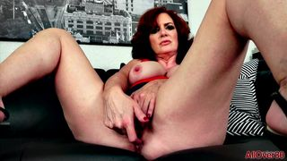 AllOver30 - Andi James Fiery and Busty
