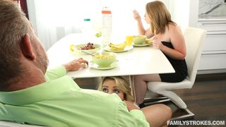 Family Strokes - Watch Out, Mommy's Coming To The Kitchen!