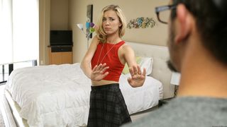 Bad Teens Punished - Promiscuous Coed Punished