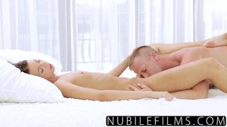 Russian Babe's first Time Anal Massage