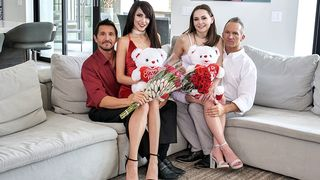 Daughter Swap - Valentines Day Daughter Orgy