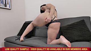 AllOver30 - Brandii Banks Couch Hottie