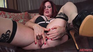 AllOver30 - Andi James Sultry Redhead Shoot