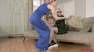 Foxy and Lika Lesbian Pleasure