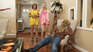 Step Siblings Caught - Step Brothers Trick And Treat