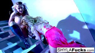 Best of Shyla Stylez - Nikka obeys Shyla's commands in this erotic girl on girl sex