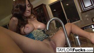 Taylor Vixen - Taylor Vixen in the kitchen
