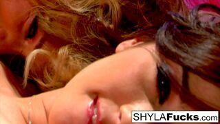 Best of Shyla Stylez - Shyla and Taylor Vixen fuck eachother