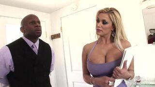 Best of Shyla Stylez - Busty real estate agent Shyla takes black cock