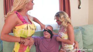 Best of Shyla Stylez - Shyla Stylez shares a big cock with Aubrey Addams