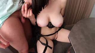 Fucking a Young with Big Tits Housewife