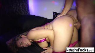 Natasha rides Robby's dong