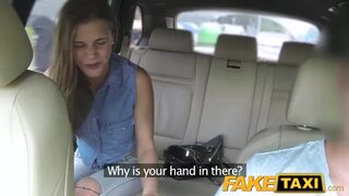 Fake Taxi - Lady wants to see Drivers Big Cock