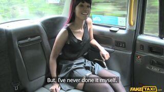 Fake Taxi - Ebony In Stockings Goes Dogging