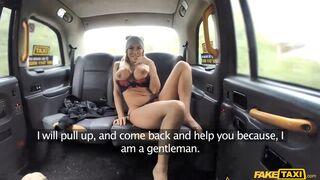 Fake Taxi - Mature Busty MILF Empties Big Balls