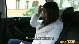Fake Taxi - She Is Acting Like BJ Is A New Thing For Her!