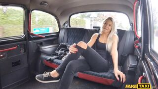 Fake Taxi - Thick Cock Stretches Shaven Pussy