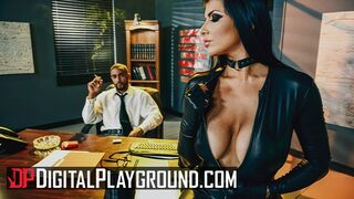 Digital Playground - Beautiful Romi Rain is Desperate to have her Boss's Big Black Cock in her Pussy