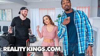 Reality Kings - Abigail Mac Ropes Voyeur Isiah Maxwell into a Sexy Amateur Video
