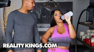 Reality Kings - Busty Babe Aryana Adin get her Personal Trainer Cock