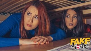Fake Hostel - Stuck under a Bed 2 Halloween Porn Special