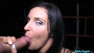 Public Agent - Blue Eyed Slut Fucked in Public