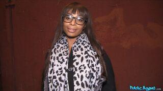 Public Agent - Ebony Business Women Strikes a Deal