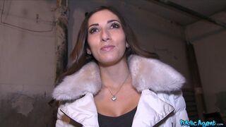 Public Agent - French Lingerie Model Fucks for Cash