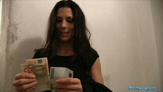 Public Agent - Quick Cash For Spanish Babe