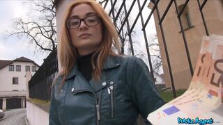 Public Agent - Sexy Student Fucking in the Bushes