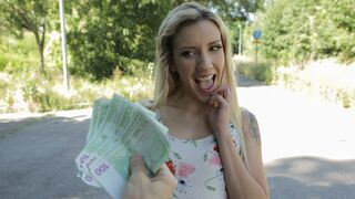 Public Agent - Sophia Grace Sex in Tunnel of Cock
