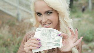 Public Agent - Tattooed Busty German Blonde MILF