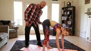 Daddys Lil Angel - Yoga With Daddy