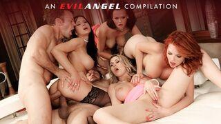 Evil Angel - EvilAngel - Rocco Siffredi's Double Anal Compilation