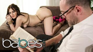 Babes - BABES - Bubble Butt Aubree Valentine Tied up and Fucked by Shrink