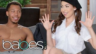 BABES - Black is always better with Sexy Melissa Moore