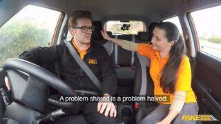 Fake Driving School - We Must Be Staying Professional, Next Time.