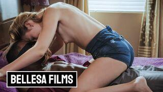 Bellesa Films - Bellessa - Blonde Babe Alexa Grace had a Big Black Cock at Home
