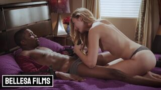 Bellesa Films - Fit Blonde Alexa Grace Worships some BBC