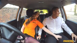 Fake Driving School - Her Secret To Pass The Test