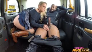 Fake Taxi - Big Black Cock Deep In Drivers Ass