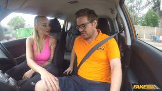 Fake Driving School - Big Tits Babe Rides To Pass