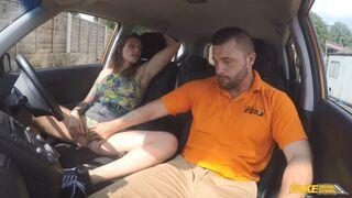 Fake Driving School - Ava Austen Gets Cum-pensation
