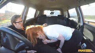 Fake Driving School - Cute Learner Eats Instructors Cum