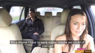 Female Fake Taxi - Lady Driver Needs a Good Quick Fuck