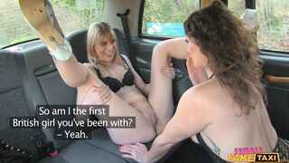 Female Fake Taxi - Steamy Taxi Sex With Bisexual Babes